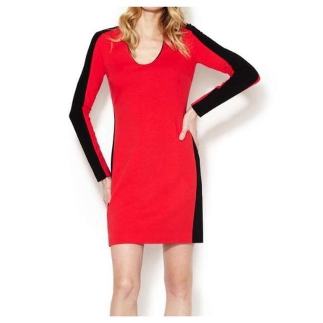 Item - Red and Black Elektra Short Night Out Dress Size 2 (XS)