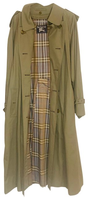 Item - Olive Green Double Breasted Coat Size 14 (L)