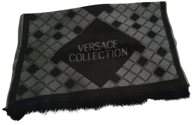 Item - Grey and Black Wool New Never Worn No Tags Scarf/Wrap