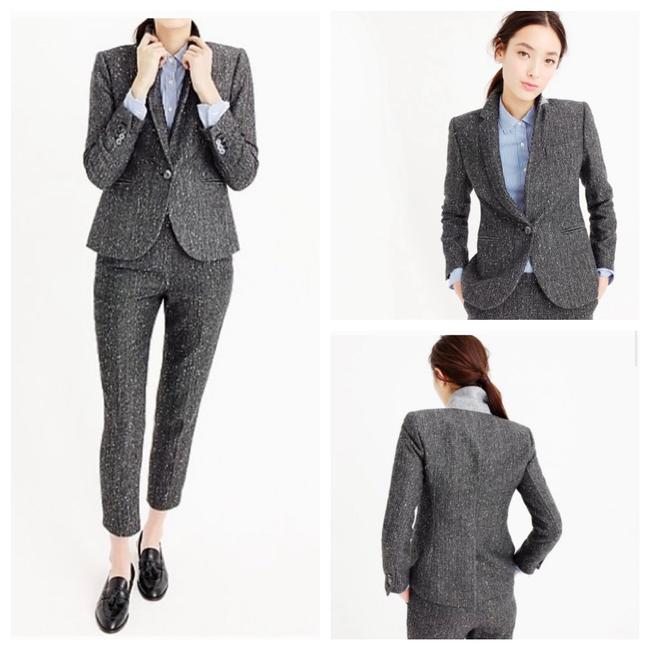 J.Crew Dark Grey Campbell Sparkle Donegal Wool Blazer Size 6 (S) J.Crew Dark Grey Campbell Sparkle Donegal Wool Blazer Size 6 (S) Image 3