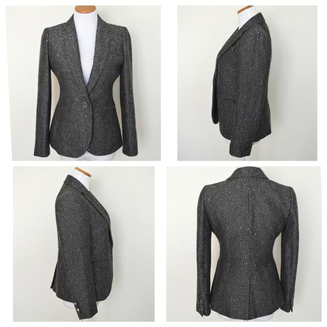 J.Crew Dark Grey Campbell Sparkle Donegal Wool Blazer Size 6 (S) J.Crew Dark Grey Campbell Sparkle Donegal Wool Blazer Size 6 (S) Image 5