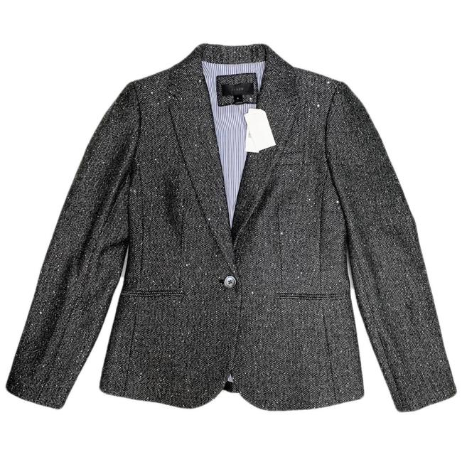 J.Crew Dark Grey Campbell Sparkle Donegal Wool Blazer Size 6 (S) J.Crew Dark Grey Campbell Sparkle Donegal Wool Blazer Size 6 (S) Image 6