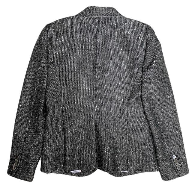 J.Crew Dark Grey Campbell Sparkle Donegal Wool Blazer Size 6 (S) J.Crew Dark Grey Campbell Sparkle Donegal Wool Blazer Size 6 (S) Image 7