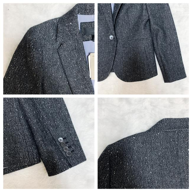 J.Crew Dark Grey Campbell Sparkle Donegal Wool Blazer Size 6 (S) J.Crew Dark Grey Campbell Sparkle Donegal Wool Blazer Size 6 (S) Image 9