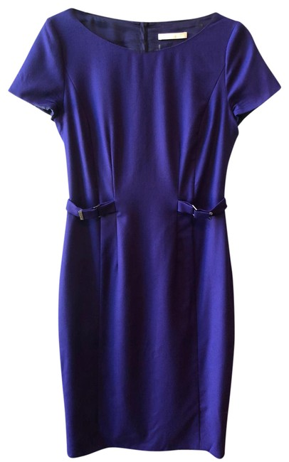 Item - Dark Blue - Mid-length Work/Office Dress Size 4 (S)