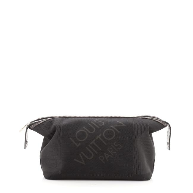 Item - Toiletry Bag Albatros Geant Geant Black Canvas (Plain) Clutch