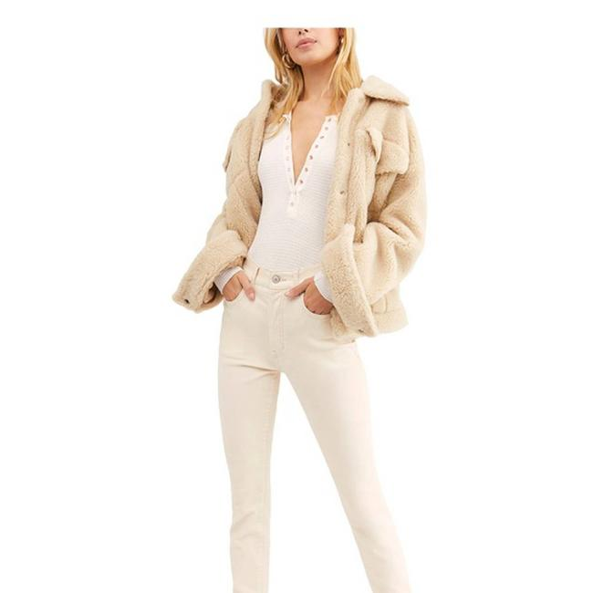 Item - Cream Womens Velvet Pants Size 00 (XXS, 24)