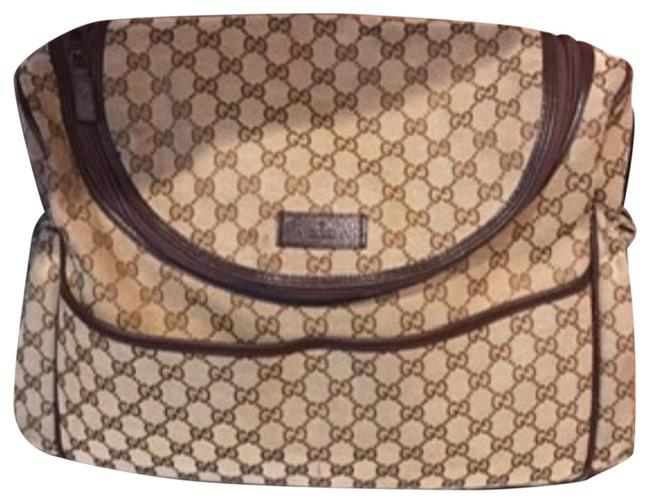 Item - Used For A Year Beige Diaper Bag