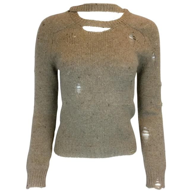 Item - Wool Cashmere Knit Oatmeal Sweater