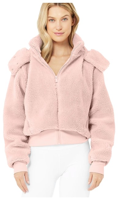 Item - Dusty Mauve Foxy Sherpa In Activewear Outerwear Size 8 (M)