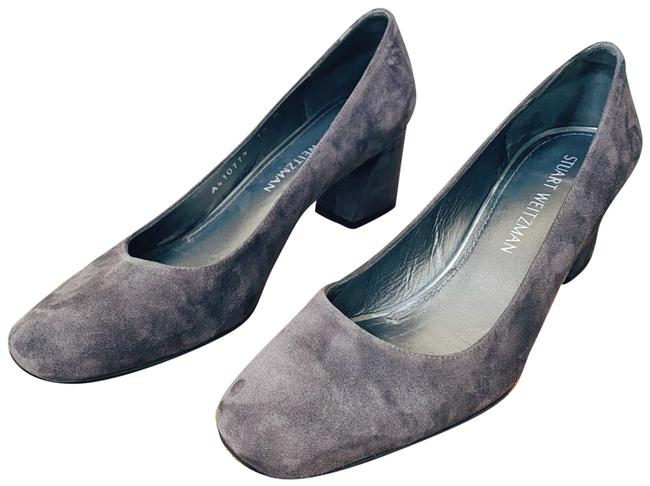 Item - Gray Suede Marymid Formal Shoes Size US 7.5 Regular (M, B)