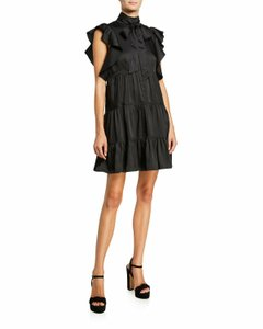 Item - Black Tiered Rebecca  Night Out Dress