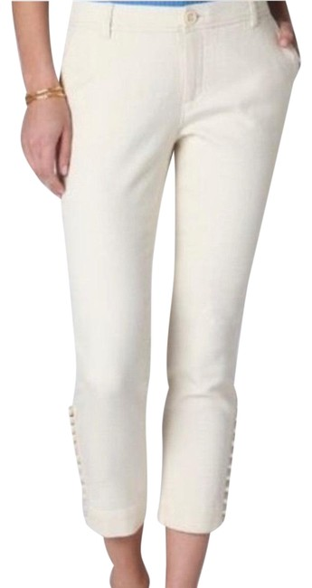 Item - Cream Daighters Of The Liberation Pants Size 12 (L, 32, 33)