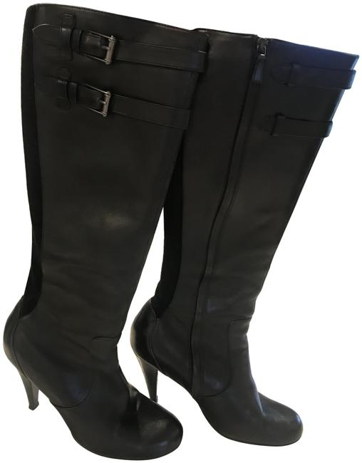 Item - Black Buckled Beauty Boots/Booties Size US 9 Regular (M, B)