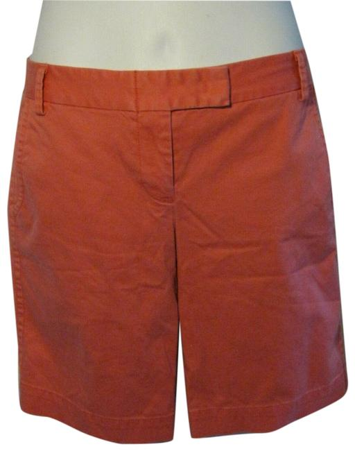 Item - Pink Coral City Fit Length Chinos Stretch Shorts Size 6 (S, 28)
