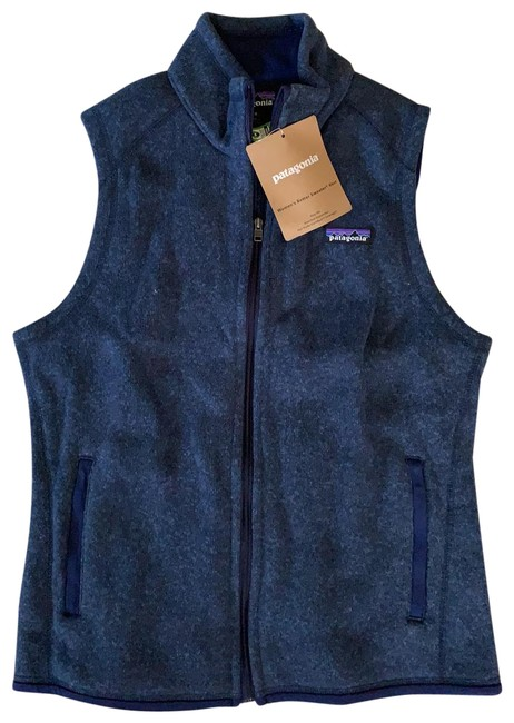 Item - Classic Navy Women's Better Sweater Vest Size 8 (M)