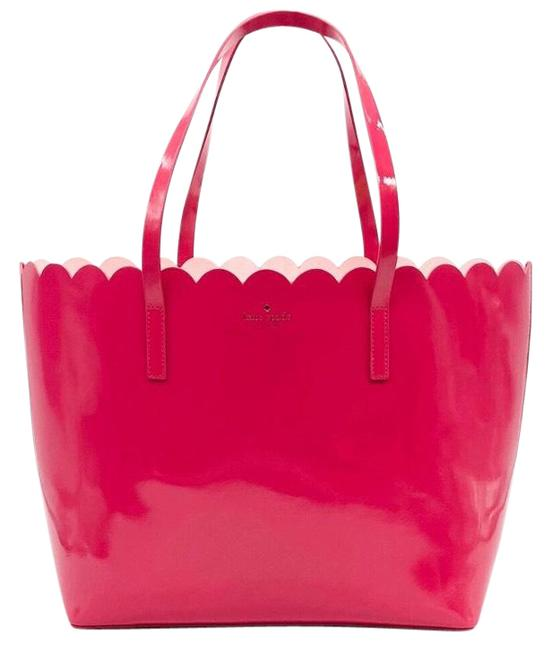Item - Lily Avenue Carrigan Pink Patent Leather Tote
