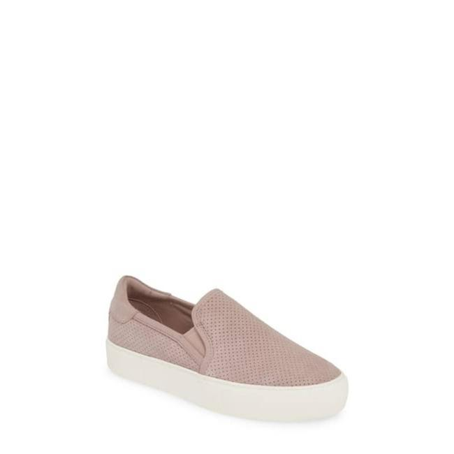 Item - Purple Abies Perforated Slip On Suede Flats Size US 7 Regular (M, B)