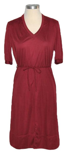 Item - Red Vintage Short Casual Dress Size 4 (S)