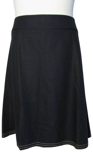 Item - Blue 20r Navy Wool A-line Skirt Size 20 (Plus 1x)