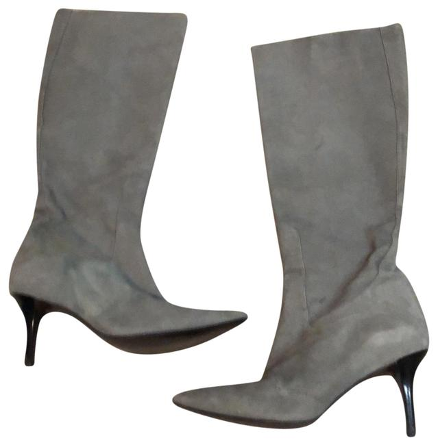Item - Gray 01 Boots/Booties Size US 6.5 Regular (M, B)
