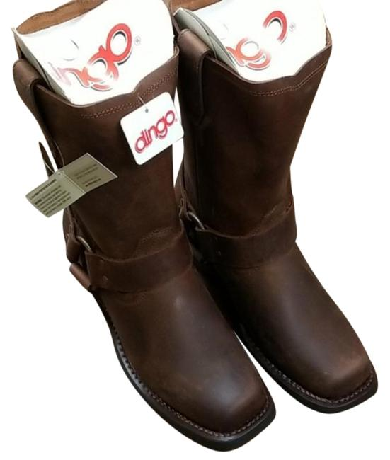 Item - Brown Ladies Molly Square Toe Boots/Booties Size US 7 Regular (M, B)
