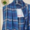 Johnny Was Blue Green Plaid Embroidered Dion Vest Tunic Size 6 (S) Johnny Was Blue Green Plaid Embroidered Dion Vest Tunic Size 6 (S) Image 7