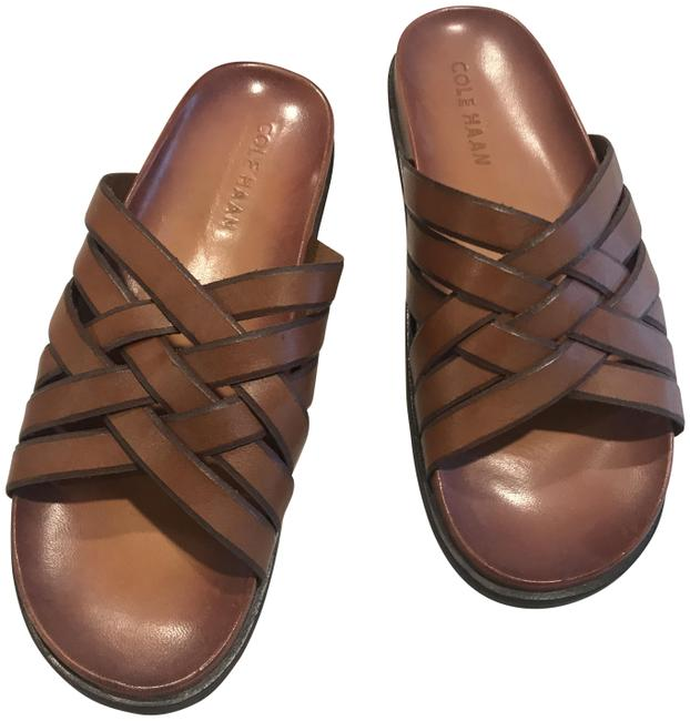 Item - Tan Men's Hirachi Sandals Size US 9 Regular (M, B)