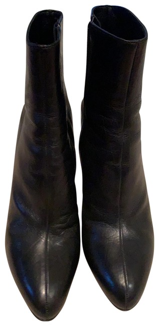 Item - Black Leather Boots/Booties Size EU 39 (Approx. US 9) Regular (M, B)