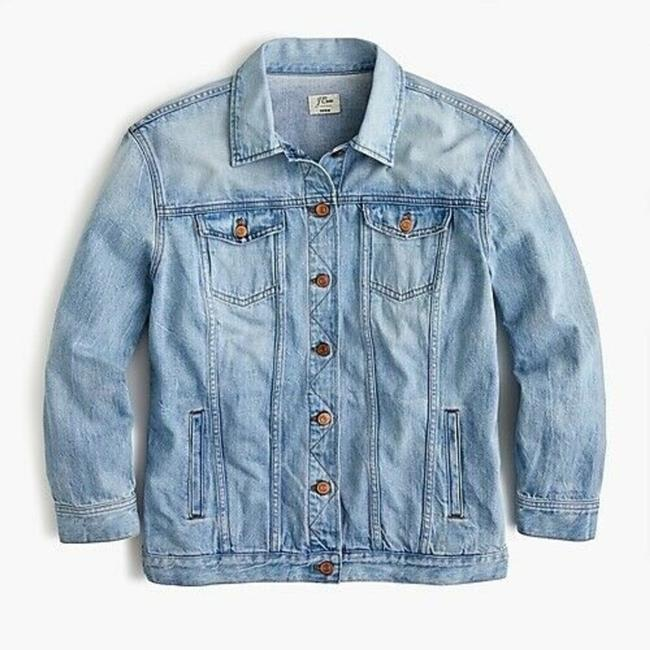 Item - Blue New Women's Oversized Medium Jacket Size 10 (M)
