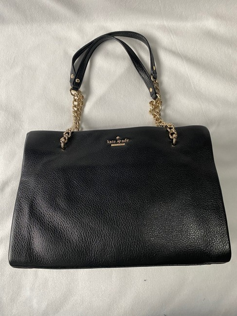 Kate Spade Emerson Place - Small Phoebe Black Leather Shoulder Bag Kate Spade Emerson Place - Small Phoebe Black Leather Shoulder Bag Image 5