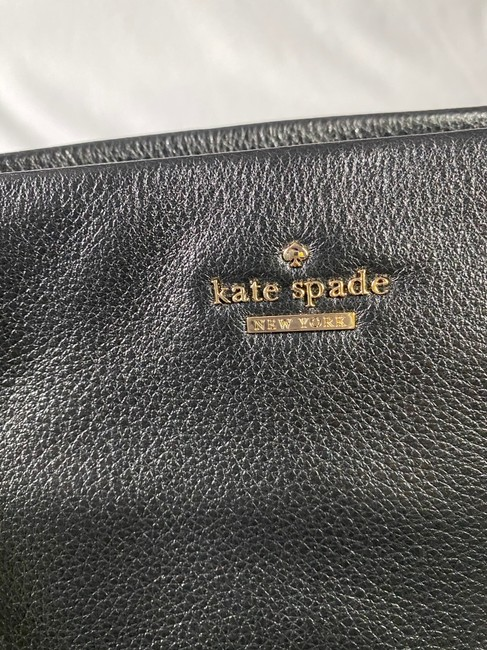 Kate Spade Emerson Place - Small Phoebe Black Leather Shoulder Bag Kate Spade Emerson Place - Small Phoebe Black Leather Shoulder Bag Image 8