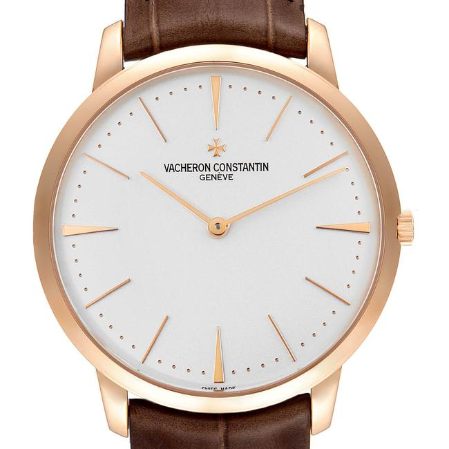 Item - Silver Patrimony Grand Taille 40mm Rose Gold 81180 Watch