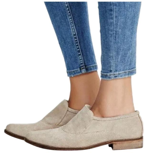 Item - Taupe Suede Brady Loafer Flats Size US 7 Regular (M, B)