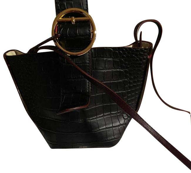 Item - Bag Wendy Sevres O-ring Black Calf Leather Tote