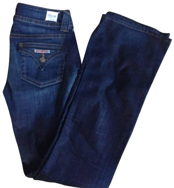 Item - Blue Medium Wash Midrise Signature Flap Pocket Women's Waist Boot Cut Jeans Size 27 (4, S)