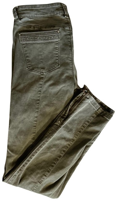 Item - Army Green Cargo Jeans Size 4 (S, 27)