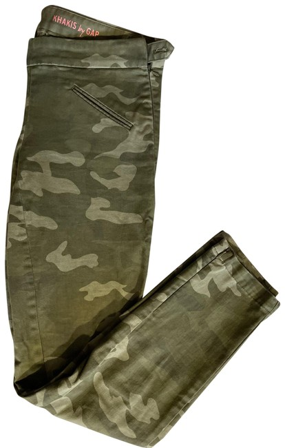 Item - Army Green Camo Khakis By Cargo Jeans Size 2 (XS, 26)