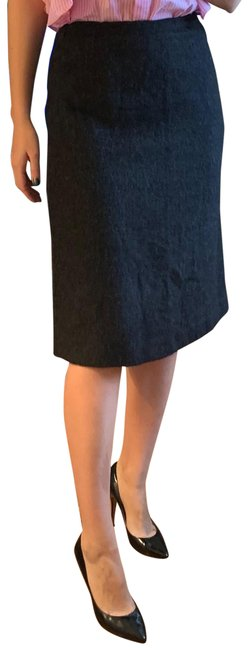 Item - Dark Gray Alpaca Pencil Skirt Size 6 (S, 28)