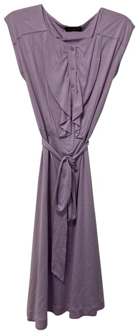 Item - Lavender Mid-length Work/Office Dress Size 8 (M)