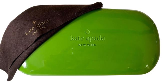 Item - Lime Green Case and Cleaning Cloth Sunglasses