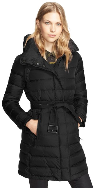 Item - Black Winterleigh Down Puffer Small Coat Size 4 (S)