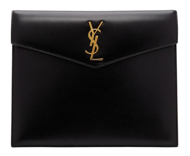 Item - Black Clutch New Ysl Small Envelope Pouch Bag Wallet