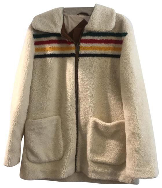Item - Cream Pdg3749 Coat Size 12 (L)