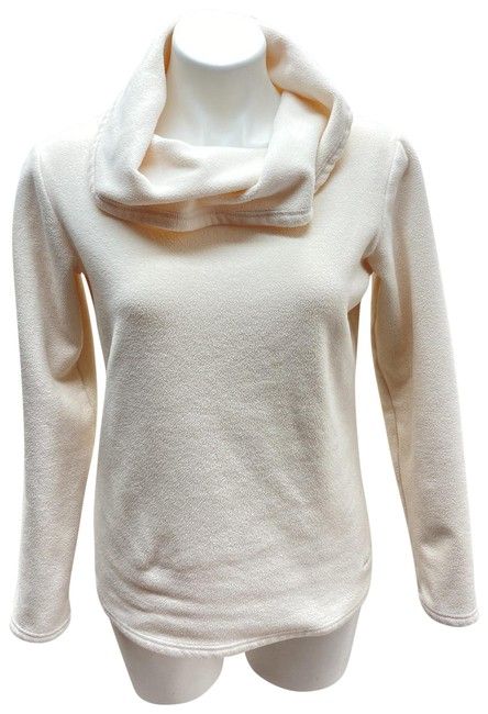 Item - Omni-shield Women's Size M High Neck Fleece Slim Fit Ivory Sweater