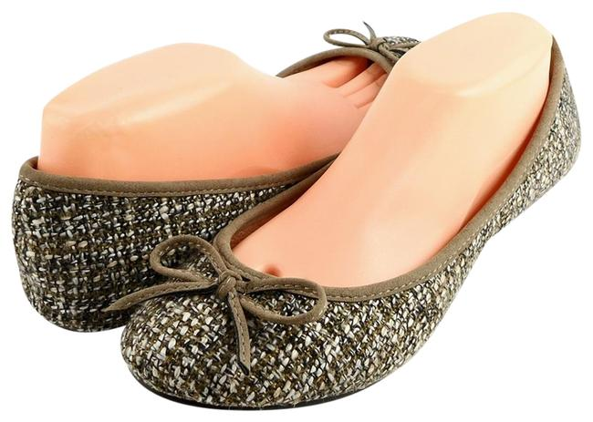 Matisse Taupe Evelyn Tweed Comfort Ballet Flats Size US 10 Regular (M, B) Matisse Taupe Evelyn Tweed Comfort Ballet Flats Size US 10 Regular (M, B) Image 1