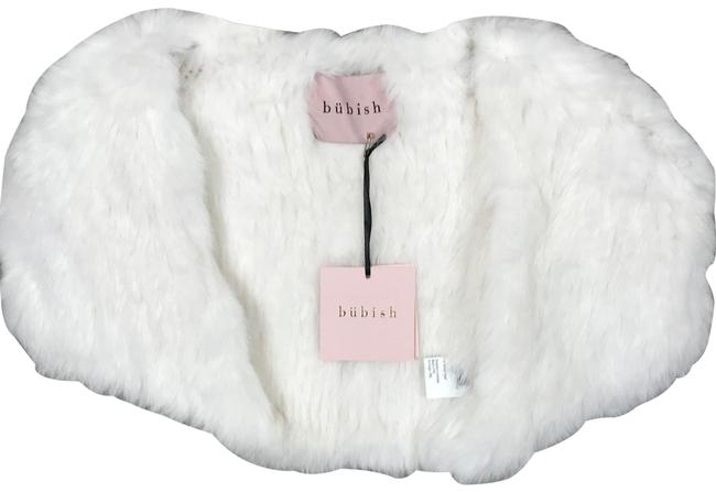 Item - White Whistler Fur Bolero Poncho/Cape Size 4 (S)