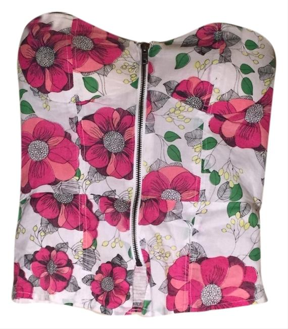 Sfera Top White and Pink