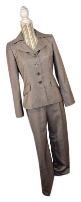 Item - Brown Light Two Piece and Blazer Pant Suit Size 6 (S)