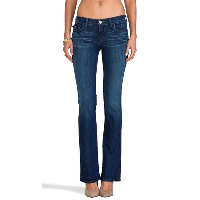 Item - Blue Low Rise Becky Ws22386b14 Boot Cut Jeans Size 0 (XS, 25)
